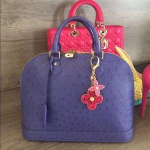 Rare Louis Vuitton PM Ostrich Bag.Rare Color,